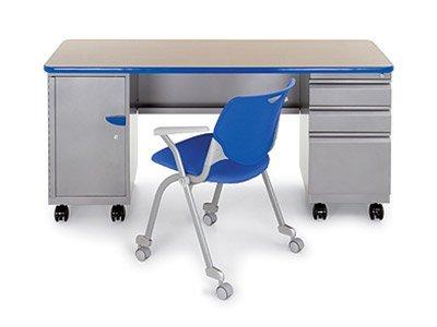 Smith-System-Teacher-Desk---Double-Pedestal